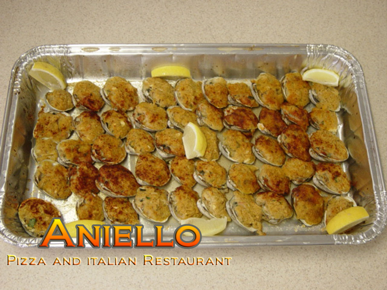 Stuffed Clams Tray