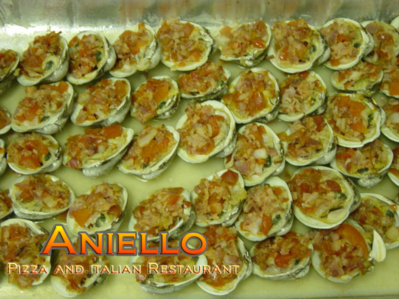 Clams Casino Tray