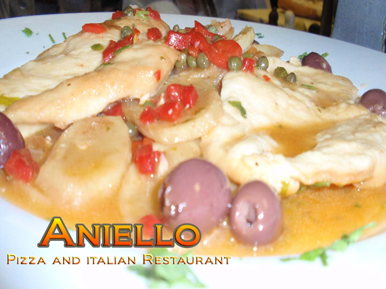 Chicken Scarpiello